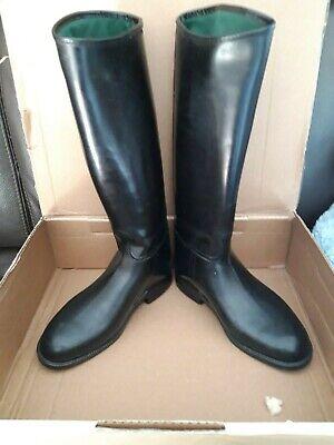 Bottes cavalières AIGLE noires pointure 34 | eBay