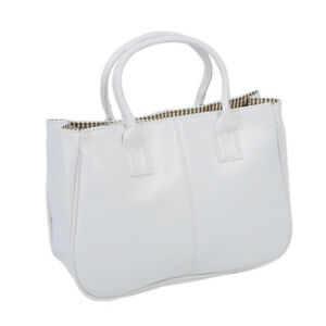 Fashion-Woman-Ladies-Class-PU-Leather-Satchels-Tote-Purse-Bag-Handbag-white-M6