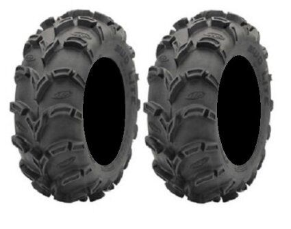 25-10-12 6 PLY  TWO TIRES USA ATV Tires 25x10-12 Pair of ITP Mud Lite 6ply 2