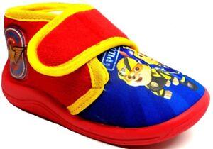 ARNETTA-PAW-PATROL-pantofole-scarpette-bimbo-ART-S18763-rosso-slippers