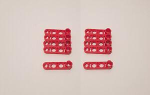 Lego ® 10x Technic 2825 schwarz Liftarm Liftarme mit Verbinder 1x4
