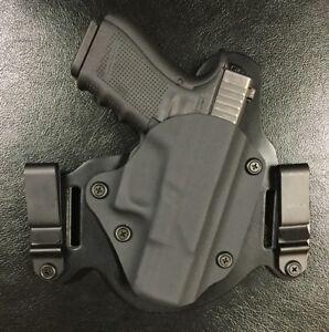 Glock-43-IWB-OWB-Morph-Hybrid-Holster-Black-Kydex-leather-RH