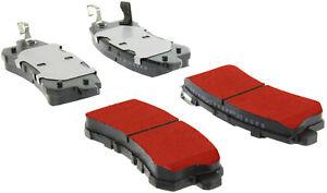 Disc Brake Pad Set-PQ PRO Brake Pads with Shims and Hardware Rear Centric