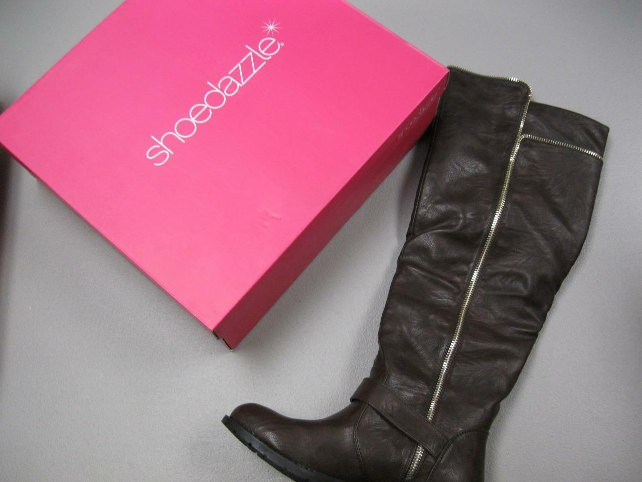 shoesdazzle Reetha Women's Boots Brown Size 7 NEW