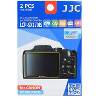 Jjc Lcp-sx170is Lcd Film Camera Screen Display Protector For Canon Sx170 Sx160