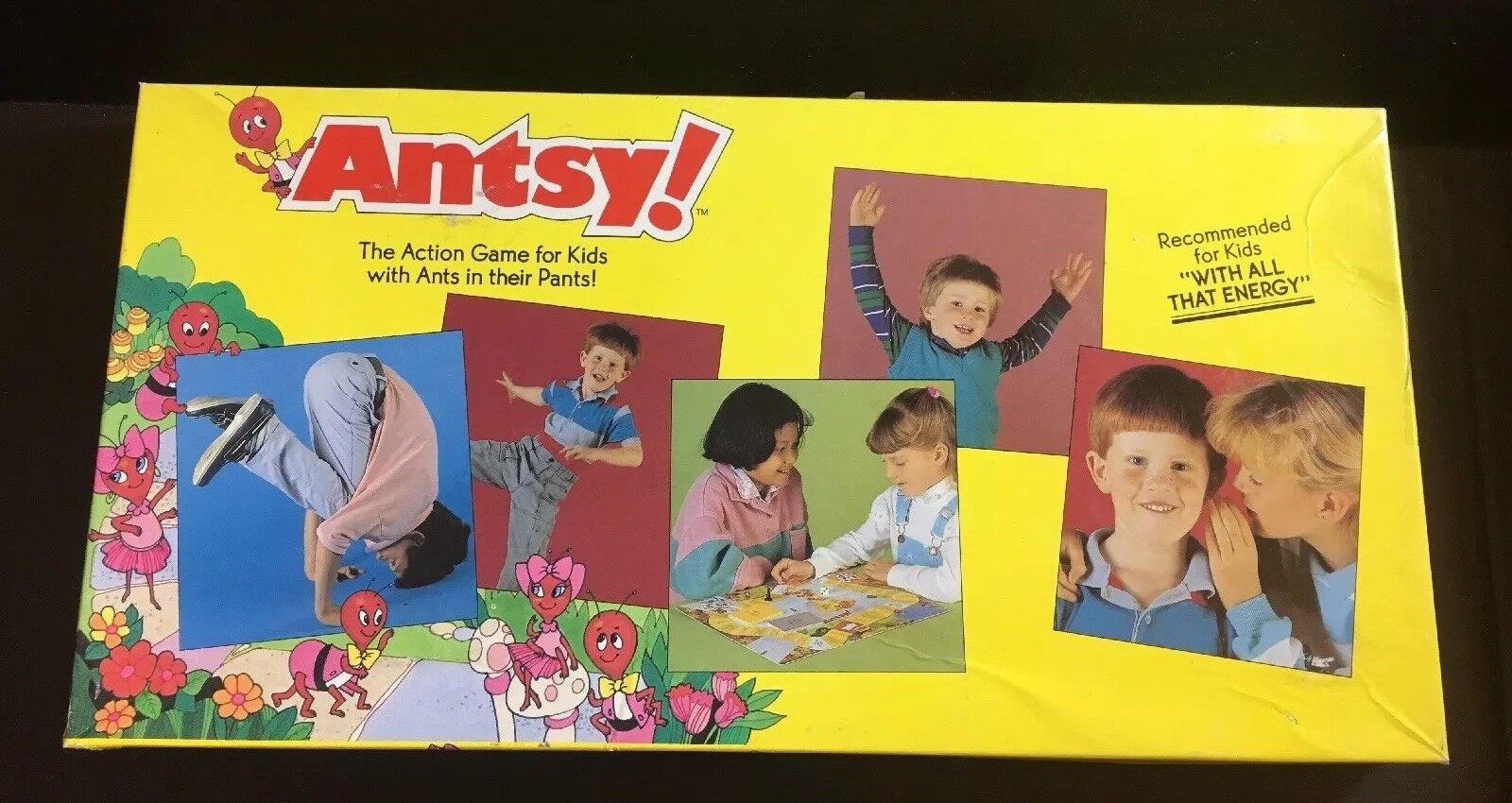 Fun 1988 Vintage Antsy Board Game 100% COMPLETE COMPLETE COMPLETE 36b6aa