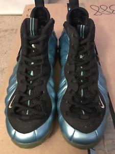 2011 Nike Air Foamposite PRO Electric blueE 624041-410 Size 9.5