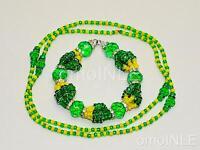 Ilde Santeria Ifa Orisha Bracelet & Collar Idde Mazo Orumila Glass Beads