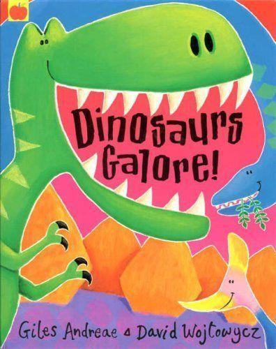Dinosaurs Galore!, Andreae, Giles, Good Book