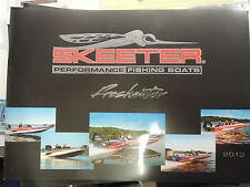 2013 Skeeter Boats brochure pamphlet literature consumer catalog