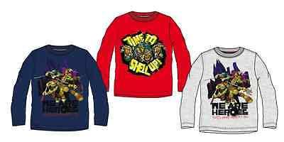 Ninja Turtles Shirt langarm 98 104 116 128 Junge Langarmshirt Pullover Turtels