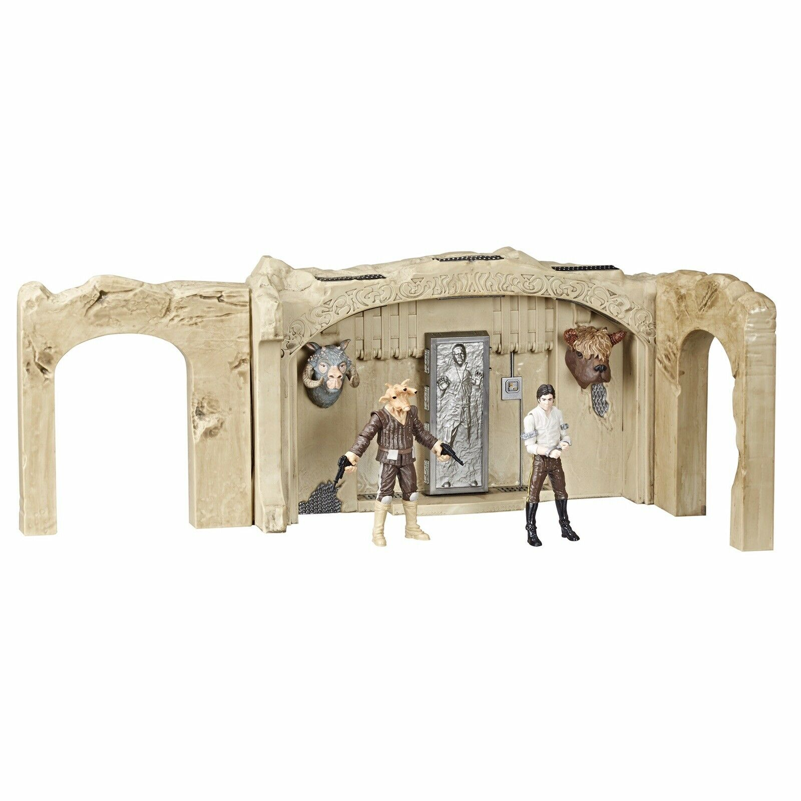 Star Wars Vintage Collection Jabba 65533;65533sPalace Playgset Walmkonst Exklusiv Han Solo