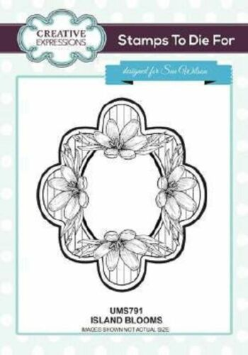 Creative Expressions Sue Wilson Rubber Stamps for Indonesian /& Lily of Valley