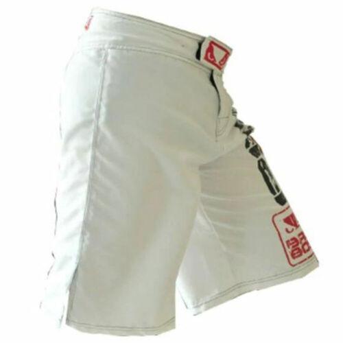 Mens MMA Fight Shorts Muay Thai Kick Boxing Sports Fitness Training Trunks M~3XL