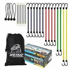 New Listingheavy Duty Assortment Bungee Cords With Hooks 24pcs Heavy Duty Bungie Cord Set