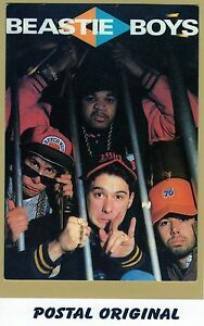 BEASTIE-BOYS-1-POSTAL-NUEVA-SIN-SELLAR-POSTCARD-NEW-UNPOSTED
