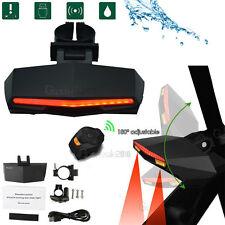 Remote Control Wireless MTB Bicycle Taillight Turn Signal Light + LED Headlight