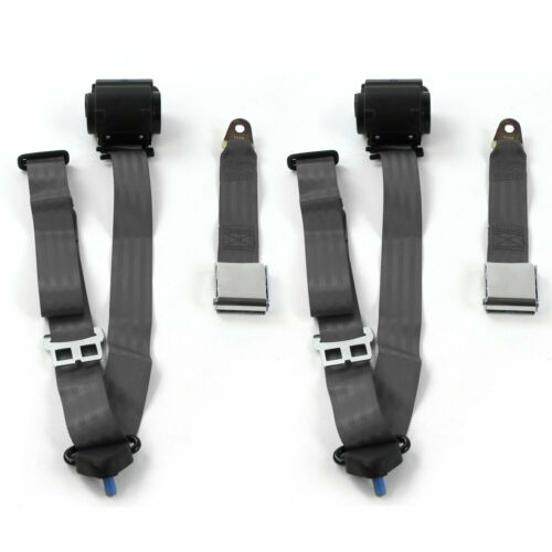 Ford GT40 1964-1969 Airplane 3pt CH Retract Bucket Seat Belt Kit-2 Belts