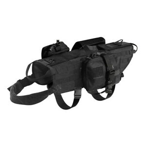 d4060aed33a3 Image is loading Military-Molle-Dog-Harness-Tactical-Training-Harness-Vest-
