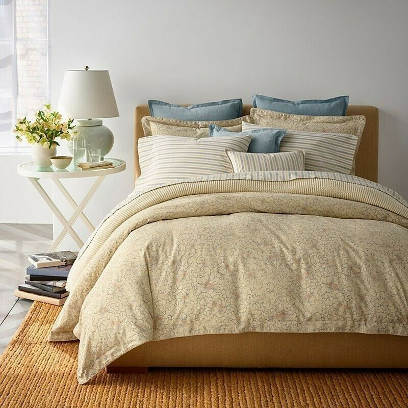 Ralph Lauren Madalena Audrey 6P King comforter Shams Set NIP