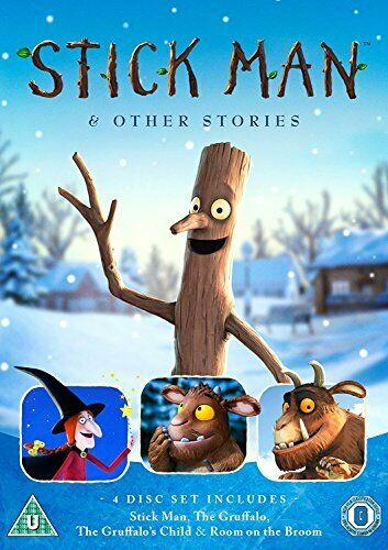 Stick Man and Other Stories [DVD] [2017][Region 2]