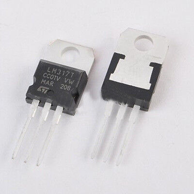10x L317 LM317 LM317T TO-220 Voltage Regulator 1.2V To 37V 1.5A
