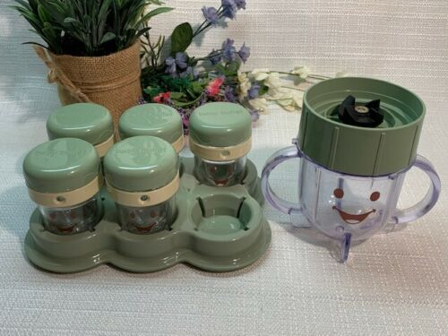 Storage Tray and Blender Jar Baby Blender Replacement Jars
