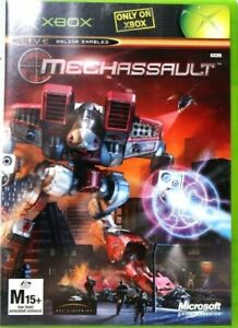 Xbox-Mechassault-Inc-Manual