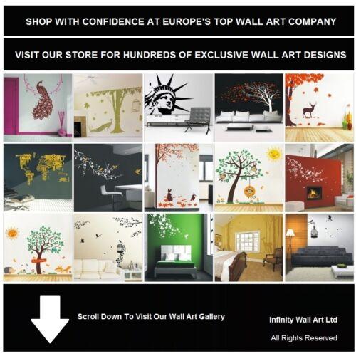 décoration murale art-pd180 wall sticker La vie d/'inspiration cite Mur Art Autocollant