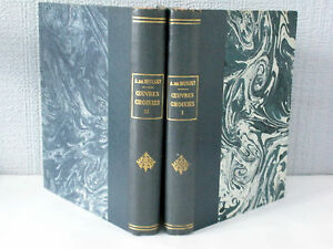 Oeuvres-Choisies-de-Alfred-de-Musset-2-Volumes-illustres-1939
