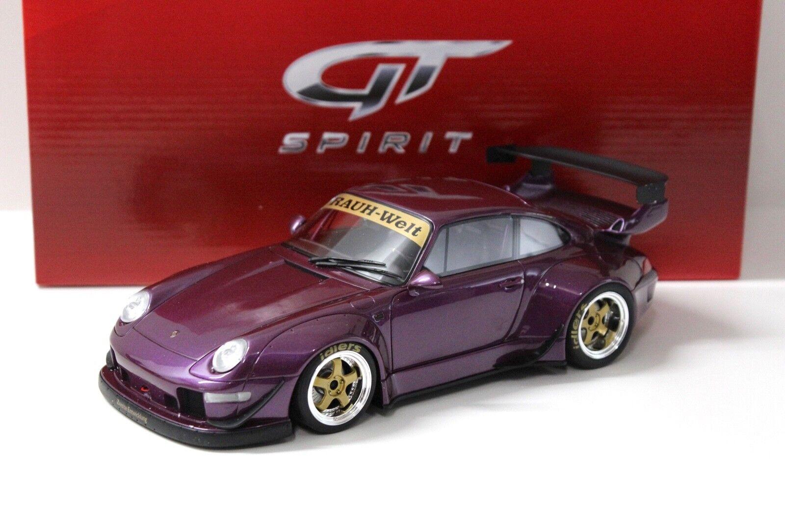 1 18 GT Spirit Porsche 911 (993) GLB Rugueuse-monde violet New chez Premium-modelcars