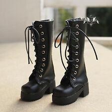 1/4 BJD Shoes MSD Boots Dollfie DREAM black Boots MID DOD SOOM AOD Dollmore LUTS