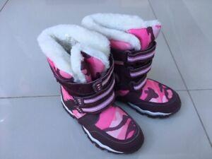 New Alpine Girl's Fur Snow Boots
