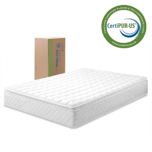Sleep Inc Slumber Pillow Top Mattress Multiple Sizes For Sale