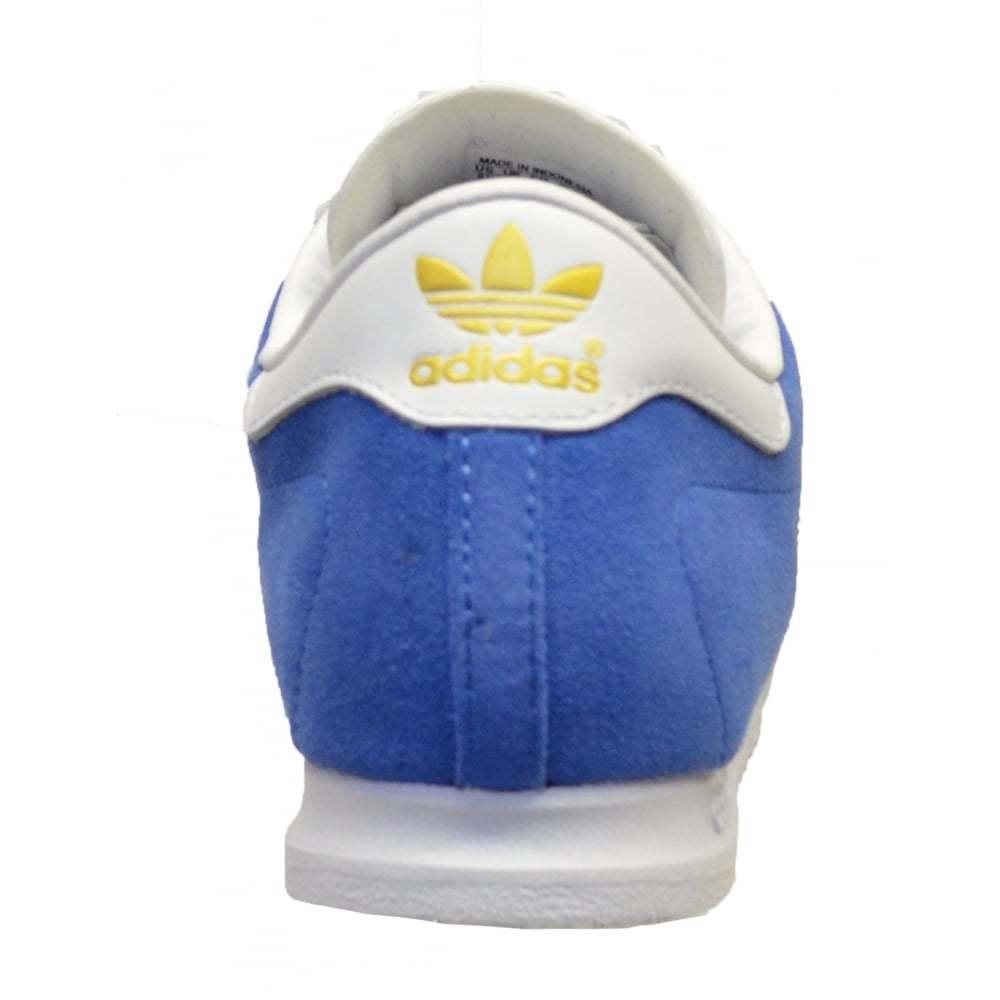 Adidas Originals Beckenbauer Herren Herren Herren Turnschuhe Blau Weiß Herren UK d10626