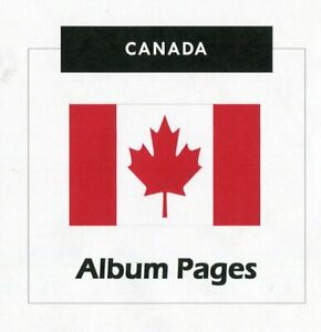 Canada-CD-ROM-Stamp-Album-1851-2018-Album-Pages-Classic-Stamps-Illustrated
