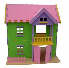 buy 2 of 3D Dollhouse Foam Puzzle with completed set of furnitures