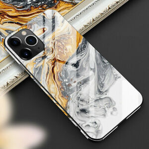 Tempered-Glass-Phone-Case-Fit-For-iPhone-11-11ProMax-Cover-Luxury-TPU-Hard-Cases