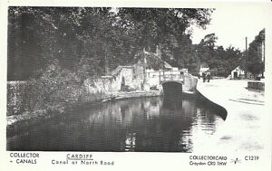 Canal-Postcard-Wales-Cardiff-Canal-at-North-Road-U683
