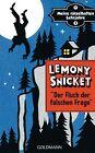 Meine rätselhaften Lehrjahre 01. Der Fluch der falschen Frage von Lemony Snicket (2013, Gebundene Ausgabe)
