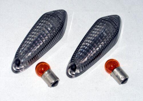 teinté signal Lenses Noir Clignotants-verres DUCATI HYPERMOTARD 821 sp aussi