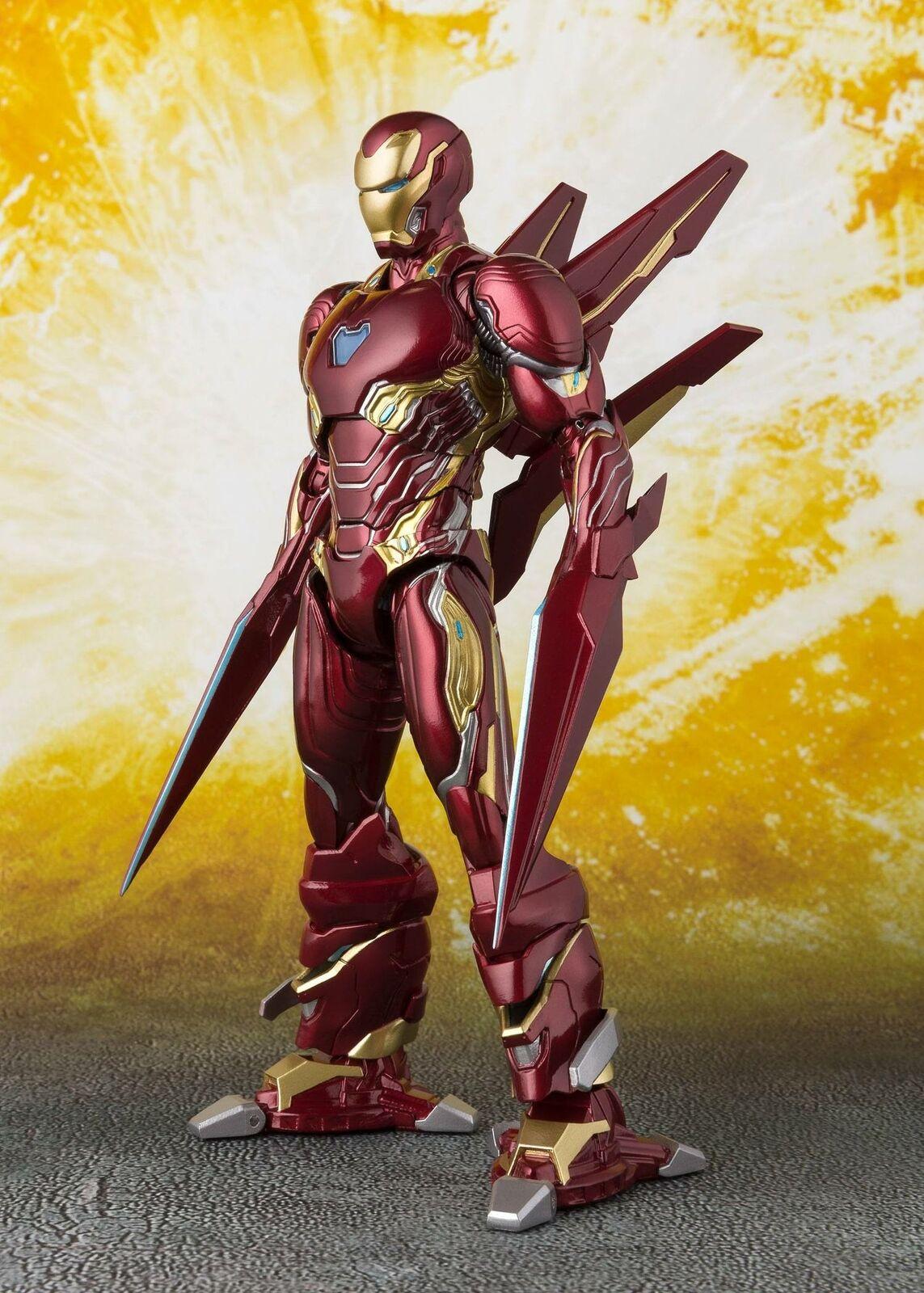 aquí tiene la última SH Figuarts infinito Los Los Los Vengadores guerra Iron Man Mark 50 Nano arma Set  Ahorre hasta un 70% de descuento.
