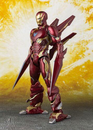 SH Figuarts Avengers Infinity War IRON MAN MARK 50 Set Nano Arma