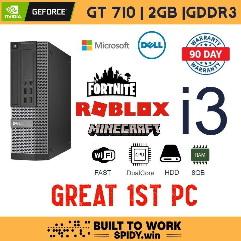 Fortnite Gaming PC | Win10 | 8GB | 250GB | WiFi | i3 | GT 710 DELL   S1