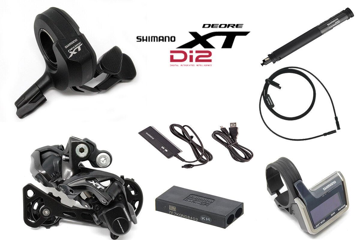 BRAND NEW Electronic Shimano XT Di2 M8000 (1x11-Speed) Gear Kit Groupset