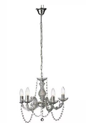 Chandelier Clear 5 Arm Light Argos Home Inspire Photos Ebay