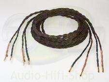 2 x 1 M Kimber Kable 4pr Cavo Altoparlante Single-Wire Con Banana Spine 4 PR