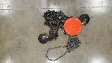 New 3 Ton Chain Hoist Puller Block Winch Steel Hardened Lift