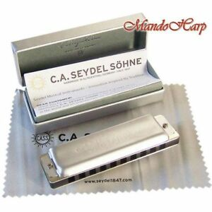 Seydel-Harmonica-16501-1847-Noble-KEY-OF-C-NEW