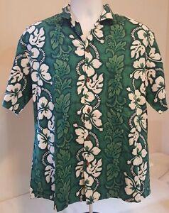Big Hibiscus White Flower Men Hawaiian Shirt
